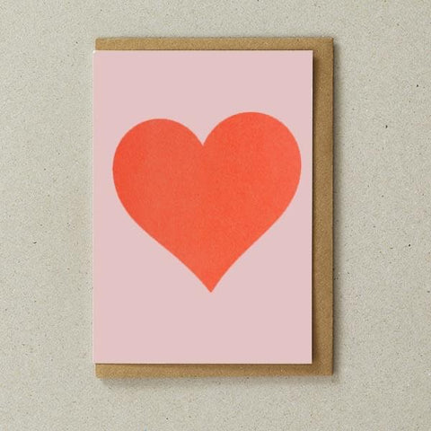 Riso Heart Card