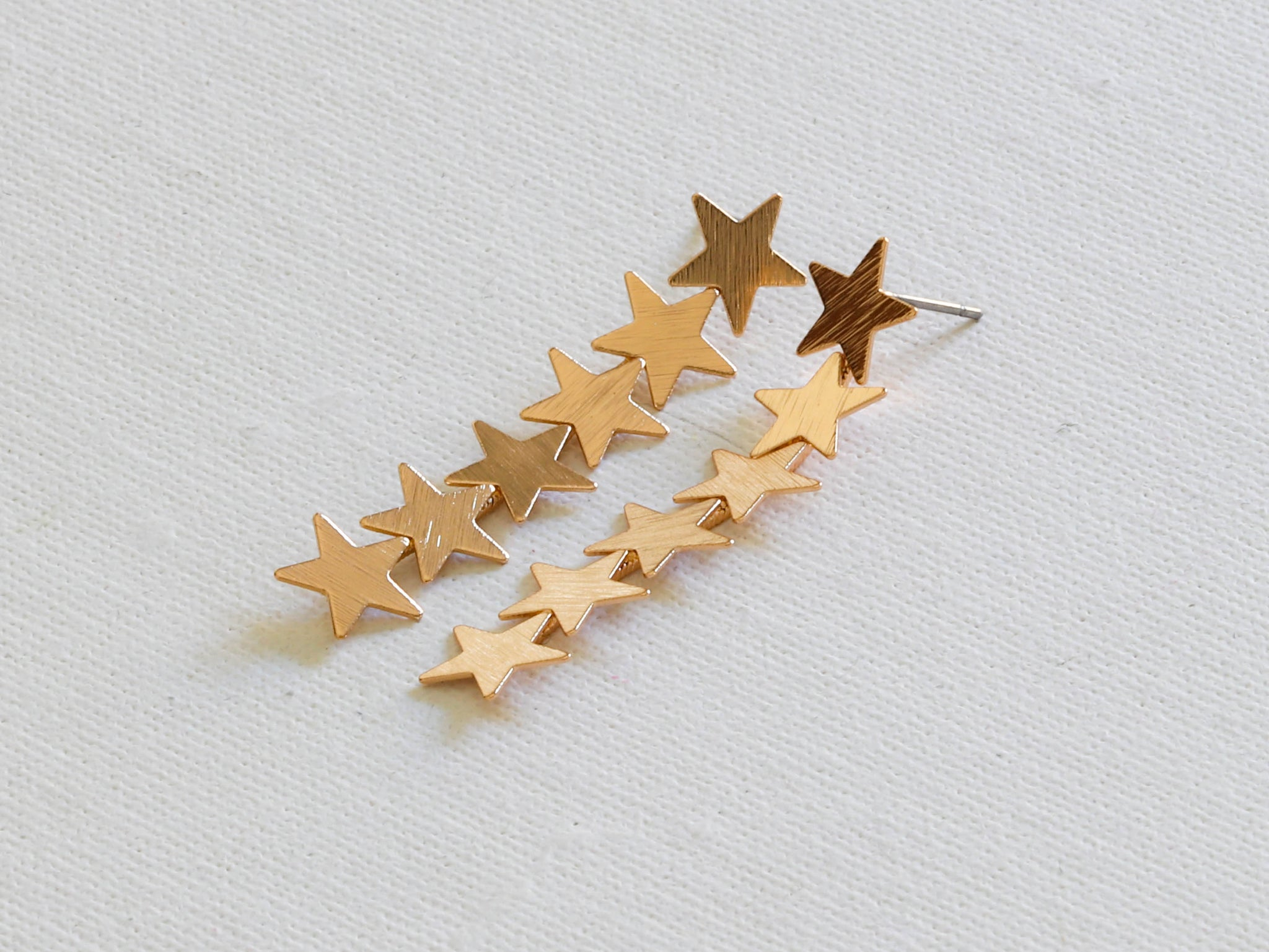 Iris Row of Stars Earrings
