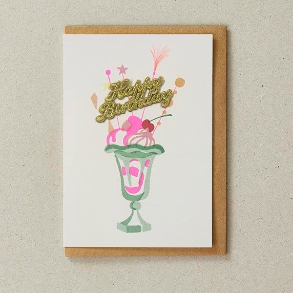 Knickerbocker Cake Card