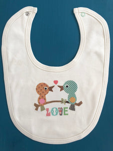 Love Birds Bib