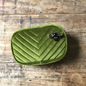 Madison Make-Up Bag Chartreuse