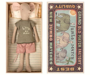 Medium Mouse in Matchbox - Boy