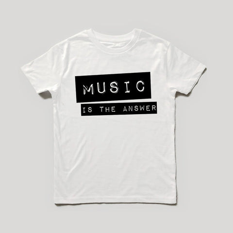 Music Is The Answer Children's T-Shirt