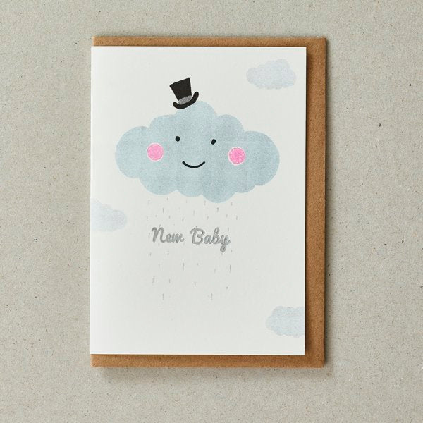 Riso Baby Card - Cloud