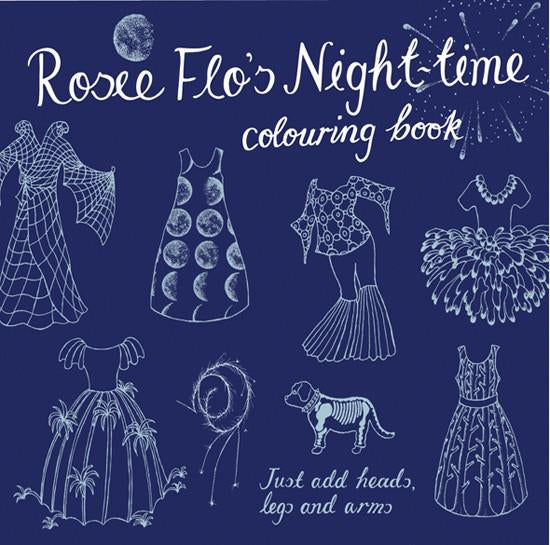 Night time Colouring Book