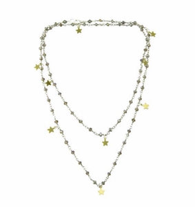 Rosary Star Necklace