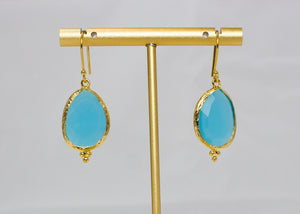 Turquoise Single Drop Earrings