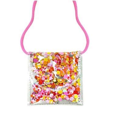 Mini Sequin Neck Purse