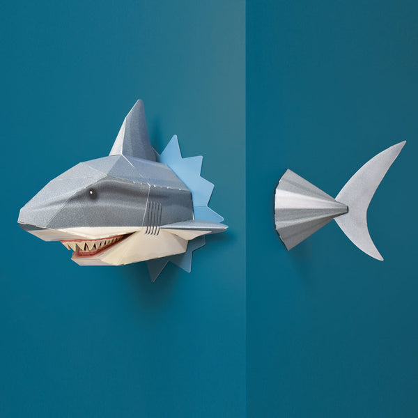 Create your own Snappy Shark Head