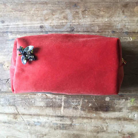 Bag: Make-Up Bag Small, Coral