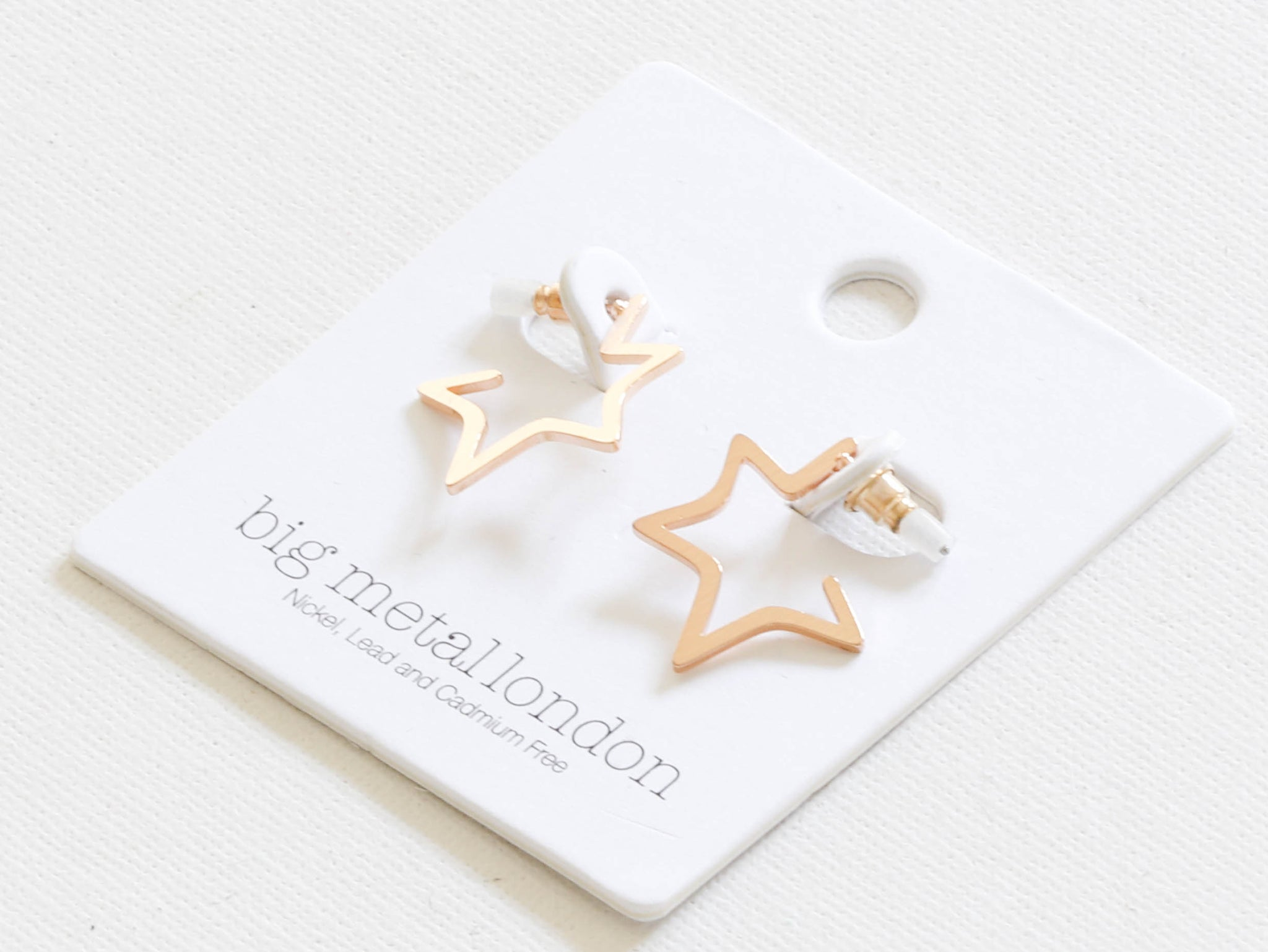Chiarra Star Earrings Gold