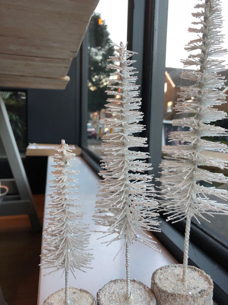 Frosty Tree Decorations