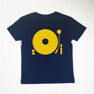 Navy Turntable T-Shirt