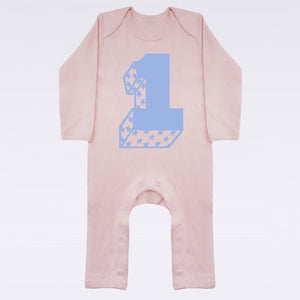 No.1 Baby Playsuit