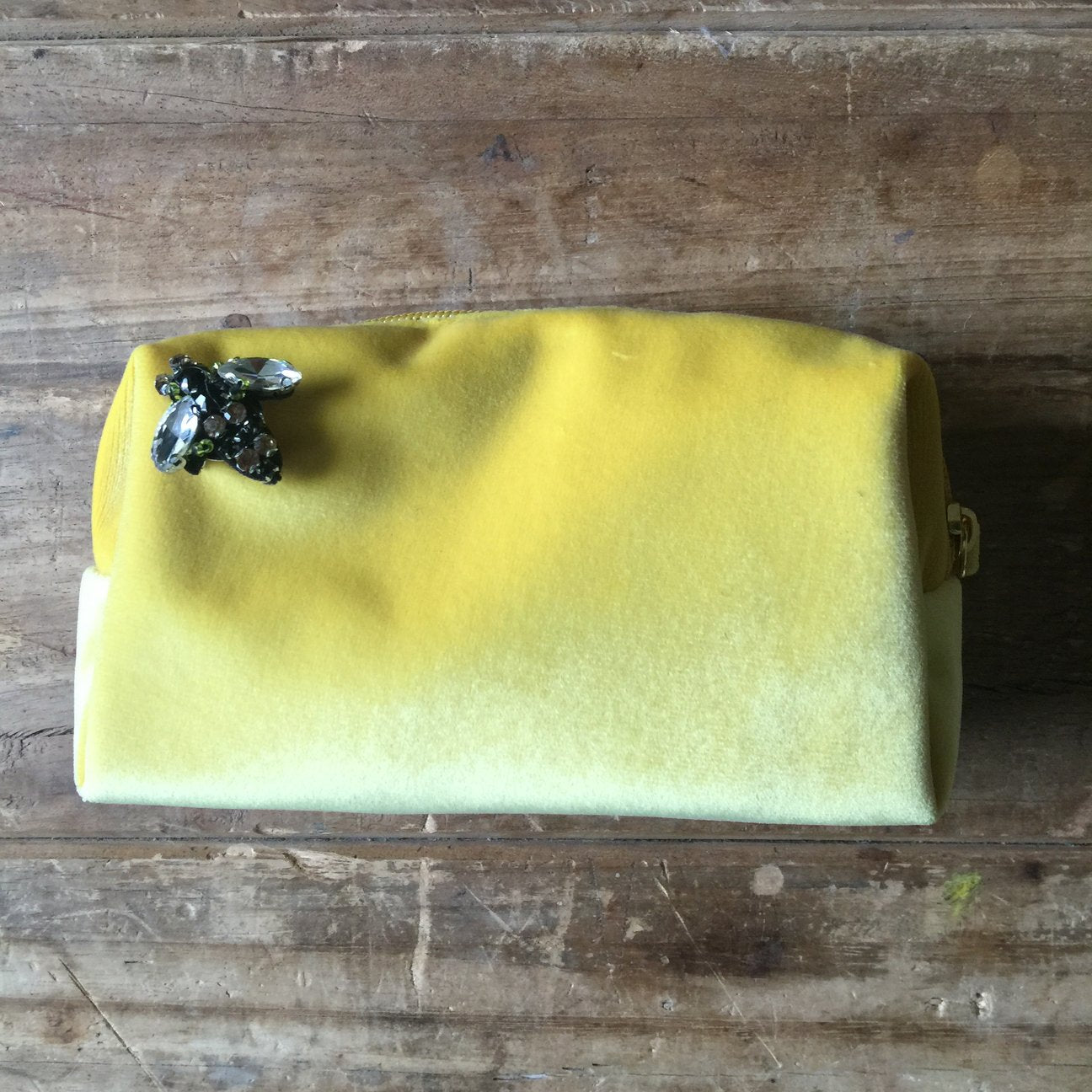 Bag: Make-Up Bag Small, Yellow