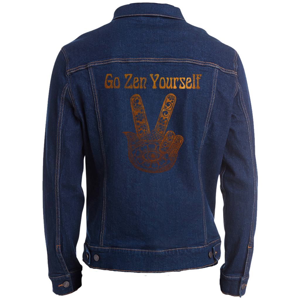 Go Zen Yourself Unisex Denim Jacket