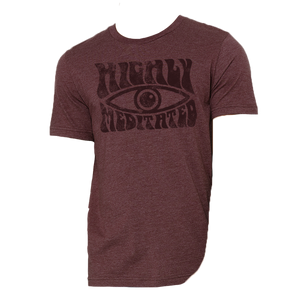 Highly Meditated Unisex Sueded Tee
