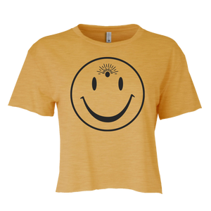 Third Eye Smile Crop Tee