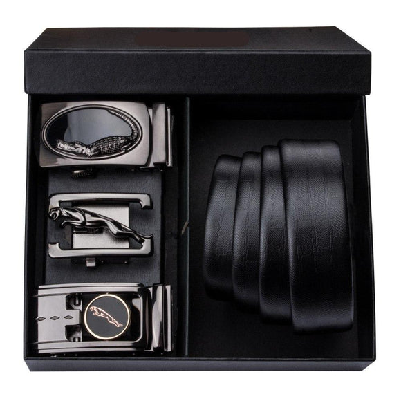 Automatic Buckle Genuine Leather Luxury Belt