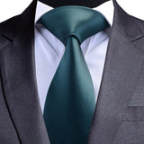 8cm Waterproof Silk Solid Color Necktie