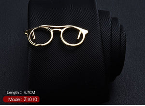 Cute Golden Glasses Ty Clip