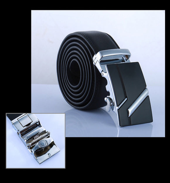 Black Belt, Wallet and Keychain Set