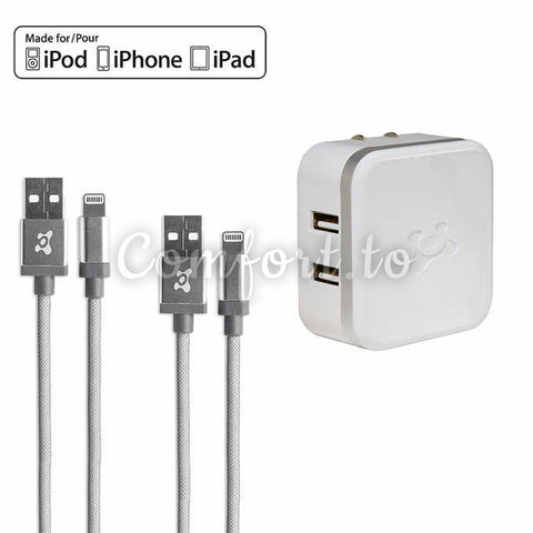 Ubio Labs Mobile Charging Kit For Apple Devices, 1 unit