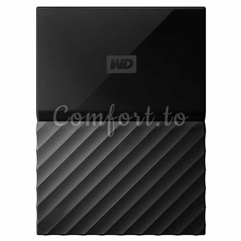 WD 4 Tb Black My Passport Portable Hard Drive, 1 unit