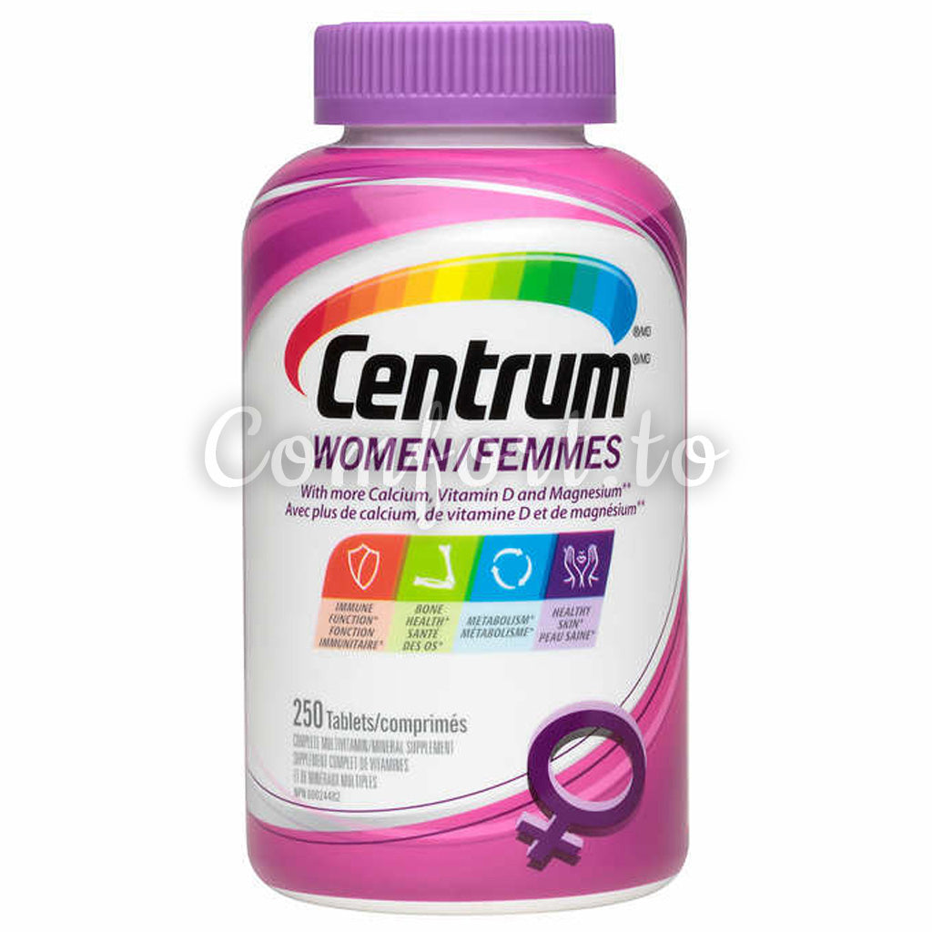 Centrum™ Complete Multivitamin And Mineral Supplement For Women, 250 tablets