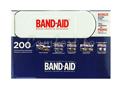 Band–Aid Variety Pack Brand Adhesive Bandages, 200 packs