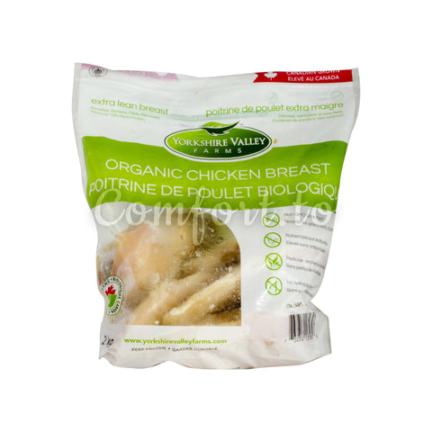 Yorkshire Valley Frozen Organic Chicken Breast, 2 Kg