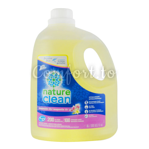 Nature Clean Magnolia Lily Laundry Detergent, 200 loads