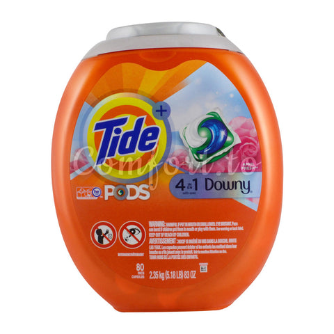 Tide Pods With Downy Single Dose Laundry Detergent, 88 pods