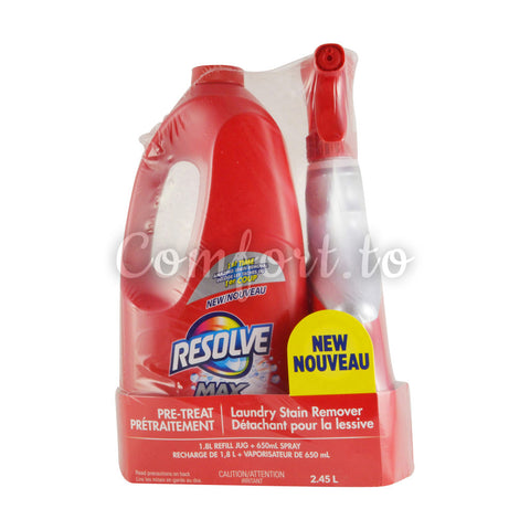 Resolve Max Laundry Stain Remover, 2.5 L
