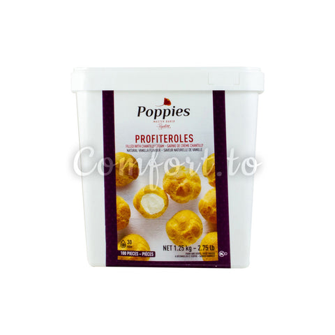 Poppies Profiteroles, 1.3 kg