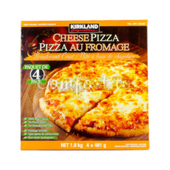 Kirkland Signature Cheese Pizza, 4 x 481 g