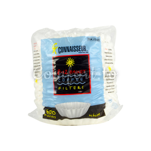 Connaiser 8–12 Basket Coffee Filters, 600 units
