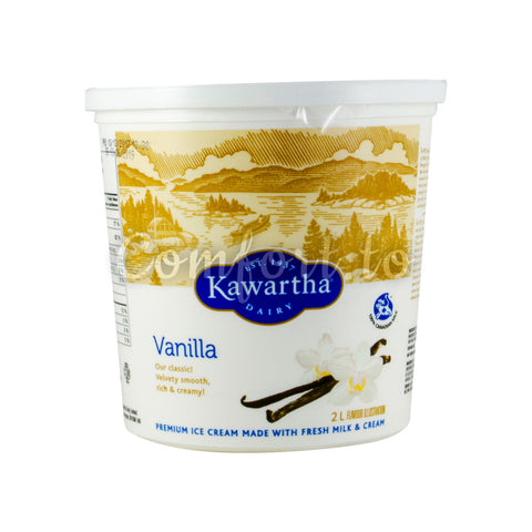 Kawartha Dairy Vanilla Icecream, 2 L