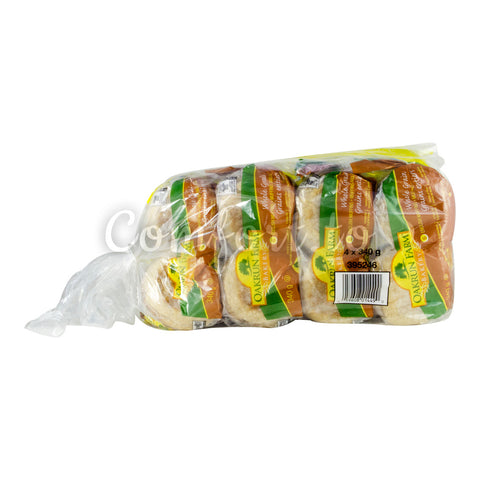 Oakrun Farms Wholegrain English Muffin, 4 x 340 g