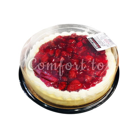 Kirkland New York Style Cheesecake with Strawberry Topping, 1.7 kg