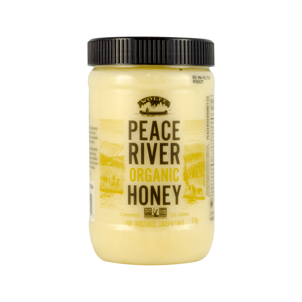 Wolfe Peace River Organic Honey, 1 kg