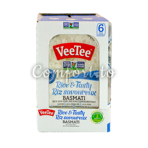 Veetee Rice & Tasty Basmati Rice Side Dish, 6 x 280 g