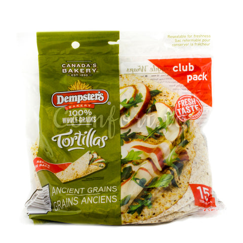 Dempster's Whole Grains Tortillas, 15 x 61 g