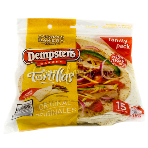 Dempster's Original Tortillas, 20 x 61 g