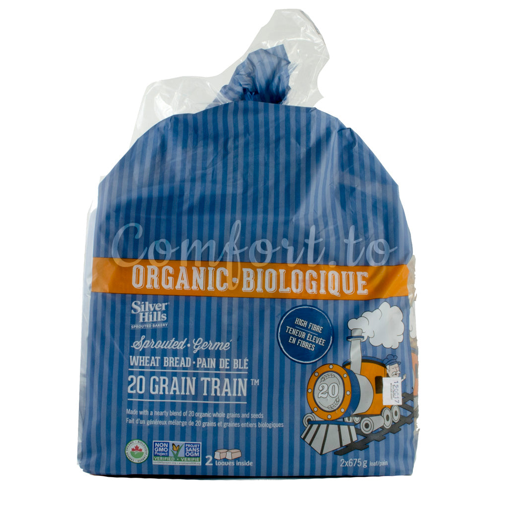 Silver Hills  Organic 20 Grain Wheat Bread, 2 x 0.7 kg