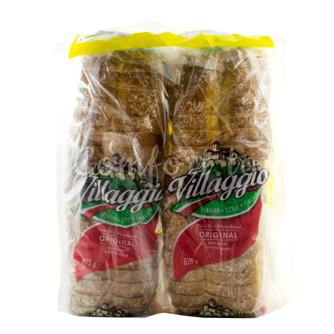 Villaggio White Bread, 2 x 0.7 kg