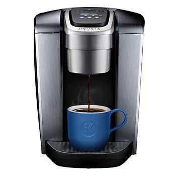 Keurig K Elite + Brewer Brushed Silver Includes MY k Cup, 1 unit