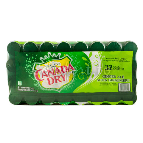 Canada Dry Ginger Ale, 32 x 355 mL