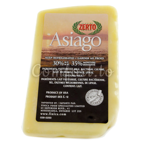 Zerto Asiago Cheese, 1 kg
