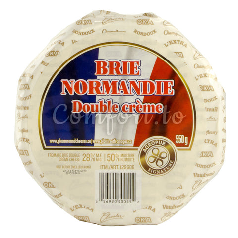 Agropur Signature Brie Normandie Cheese, 550 g